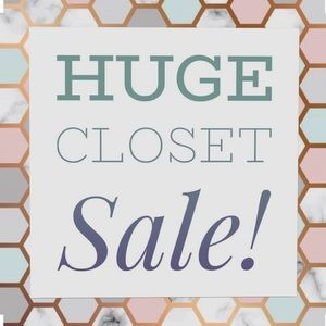 Everything must go! Many $8 items!